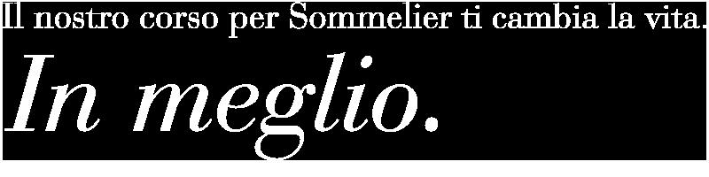 Corso Sommelier